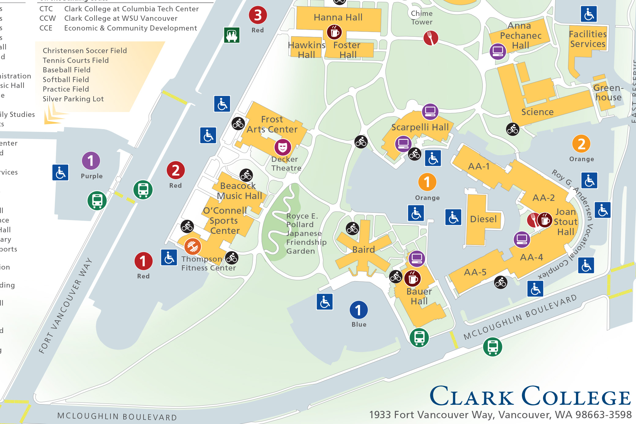 Clark College Map BMW 100th Birthday Celebration at LeMay info on May 15, 2016